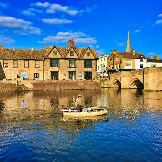 """""""The River Ouse"""" stock image"""