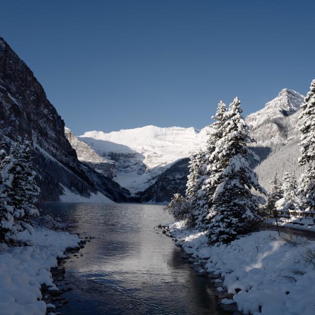 """Winter in Canada"" stock image"