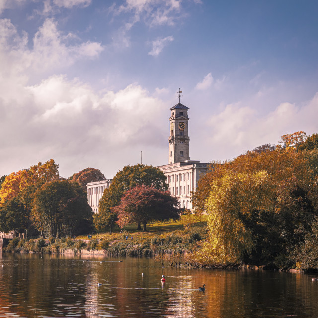 """""""The Trent Building"""" stock image"""