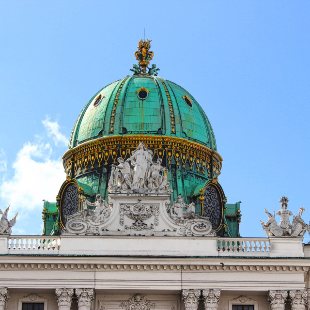 """Hofburg, Vienna"" stock image"