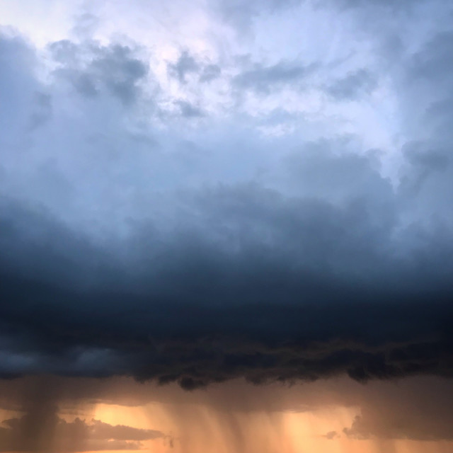 """Storm Front"" stock image"