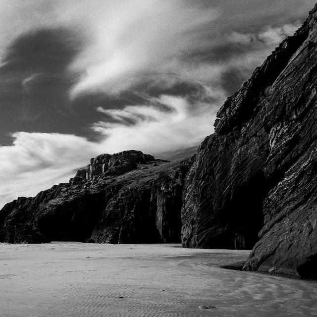 """""""Black Rock Sands"""" stock image"""