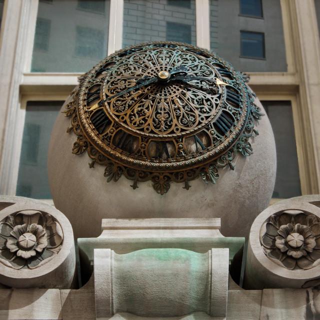 """Ball clock"" stock image"