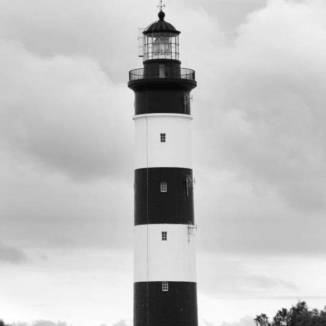 """Chassiron lighthouse"" stock image"