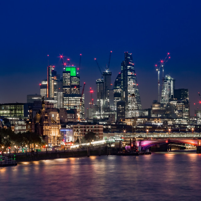 """Deconstructing London"" stock image"