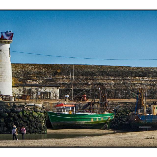 """Balbriggian Pier"" stock image"