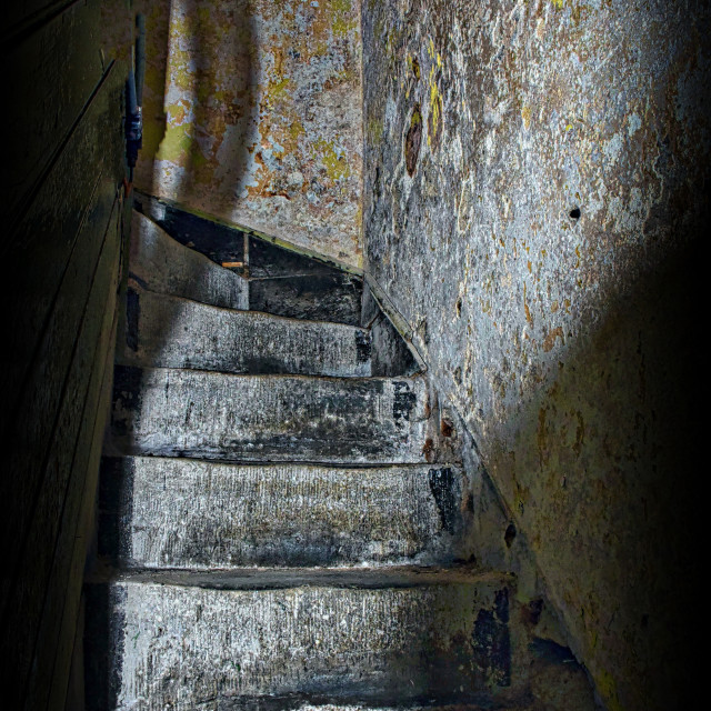 """""""Haunted Steps"""" stock image"""