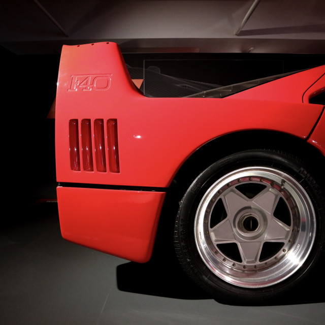 """Ferrari F40"" stock image"