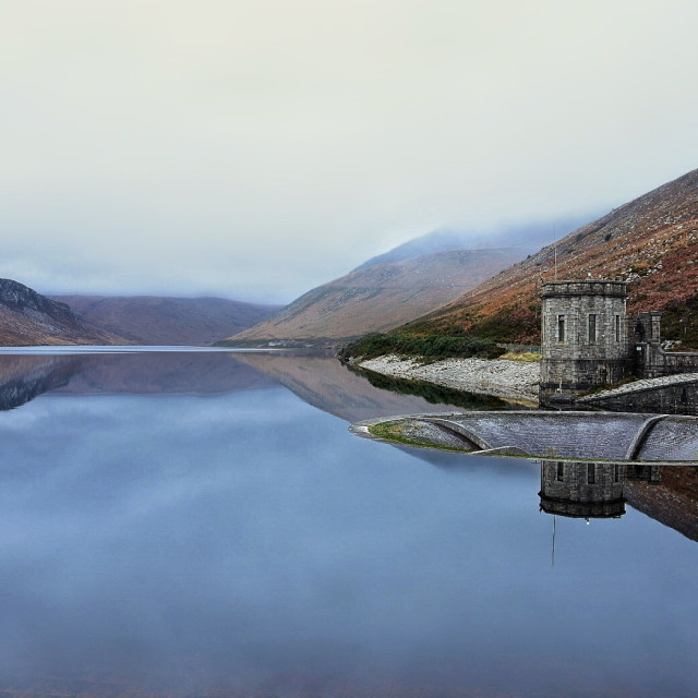 """Silent Valley Reservoir"" stock image"