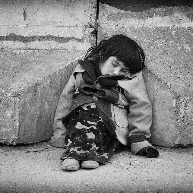 """""""The Beggars Daughter"""" stock image"""