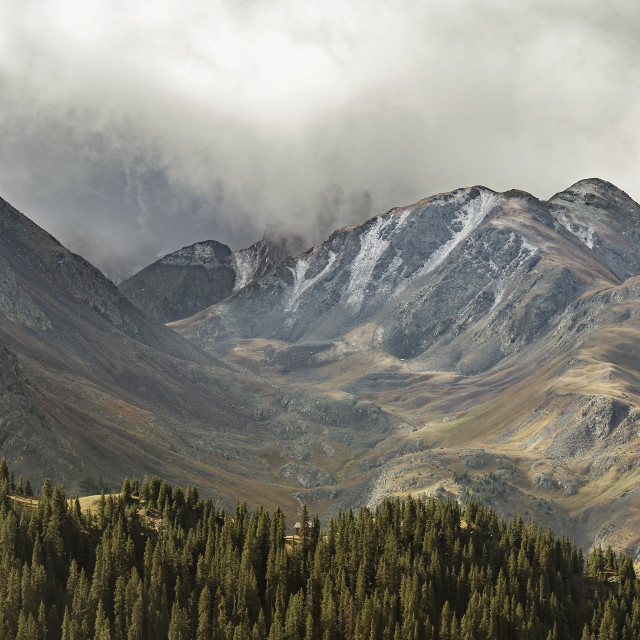 """""""Ouray Trip #16"""" stock image"""