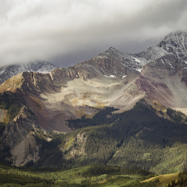 """""""Ouray Trip #22"""" stock image"""