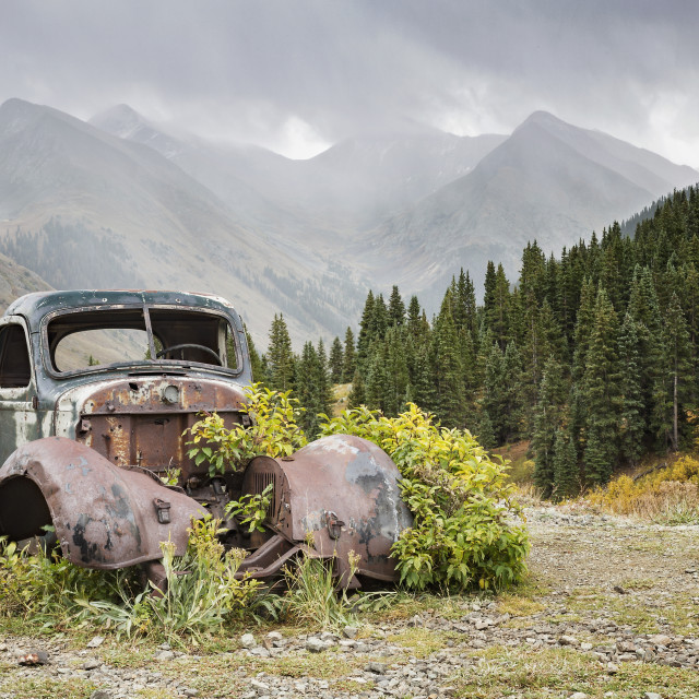 """""""Ouray Trip #17"""" stock image"""