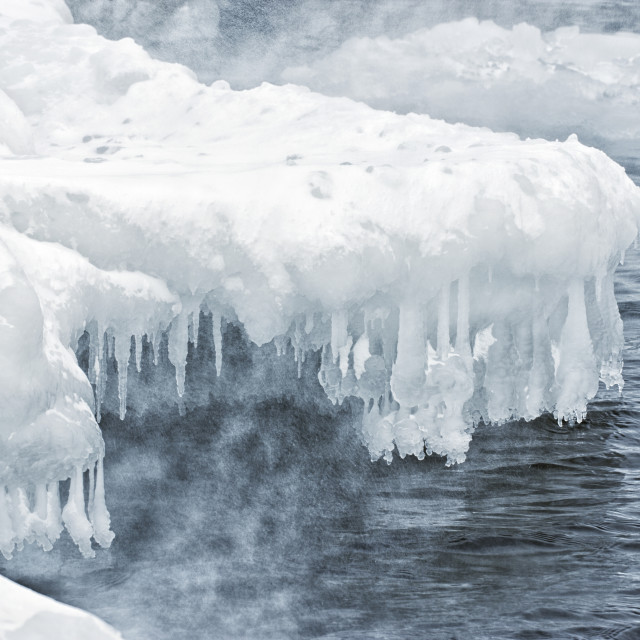 """Arctic Shore"" stock image"