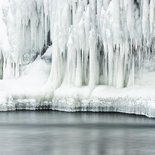 """Frozen Beauty"" stock image"