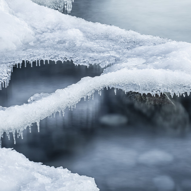 """""""Hovering Ice"""" stock image"""