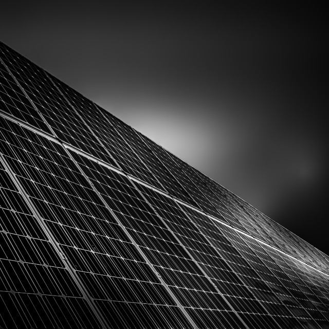 """Solar Panels"" stock image"