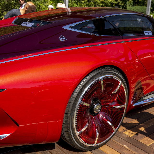 """""""Vision Mercedes-Maybach 6 Side"""" stock image"""