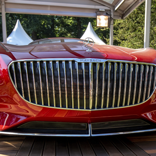 """""""Vision Mercedes-Maybach 6 Front"""" stock image"""