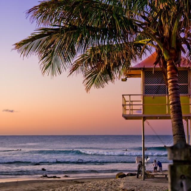 """Subtropical Rainbow Beach"" stock image"