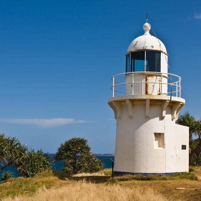 """Fingal Head lighthouse"" stock image"