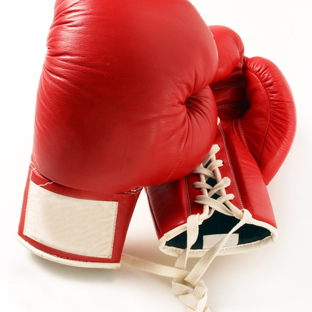 """""""Boxing Gloves"""" stock image"""