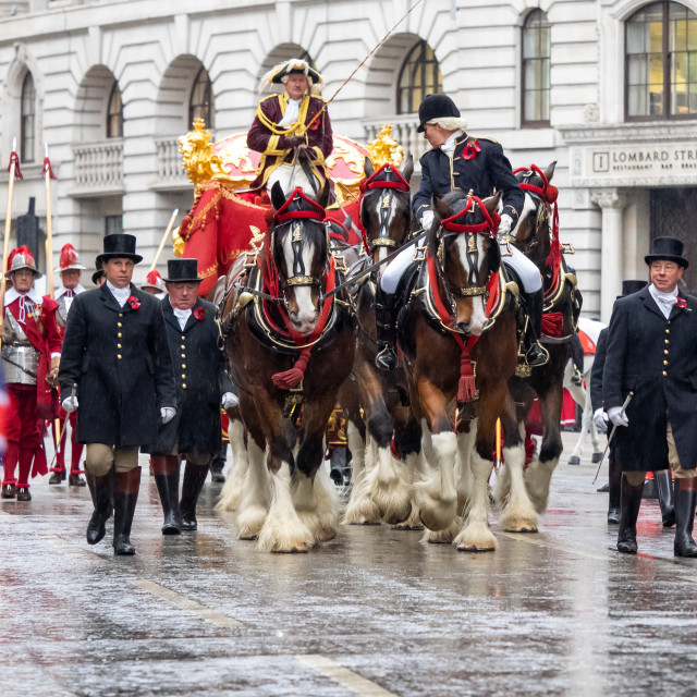 """""""Lord Mayors Show"""" stock image"""