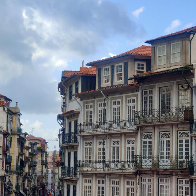 """Scenes of Porto"" stock image"