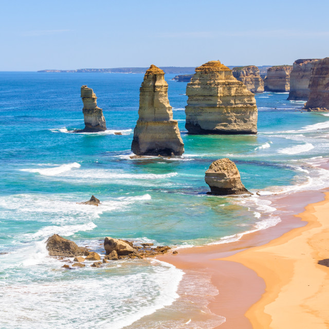 """Twelve Apostles - Port Campbell"" stock image"