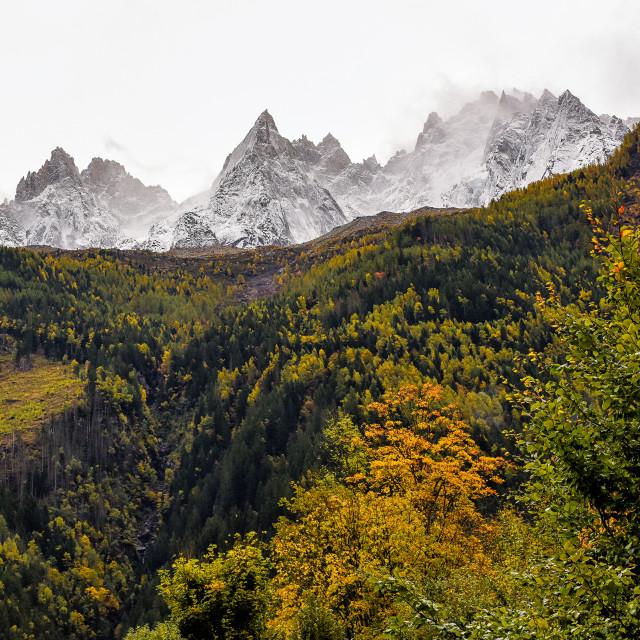 """Monte Bianco"" stock image"