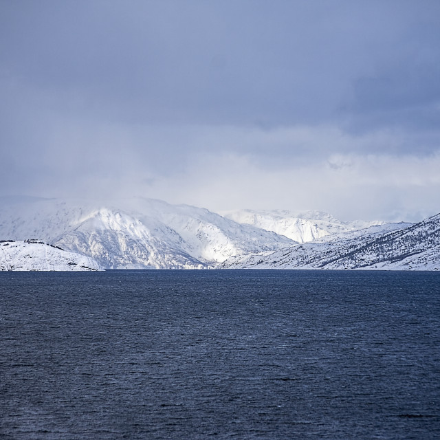"""Frozen Land"" stock image"