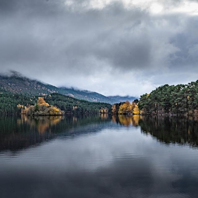 """""""Loch Eilein"""" stock image"""