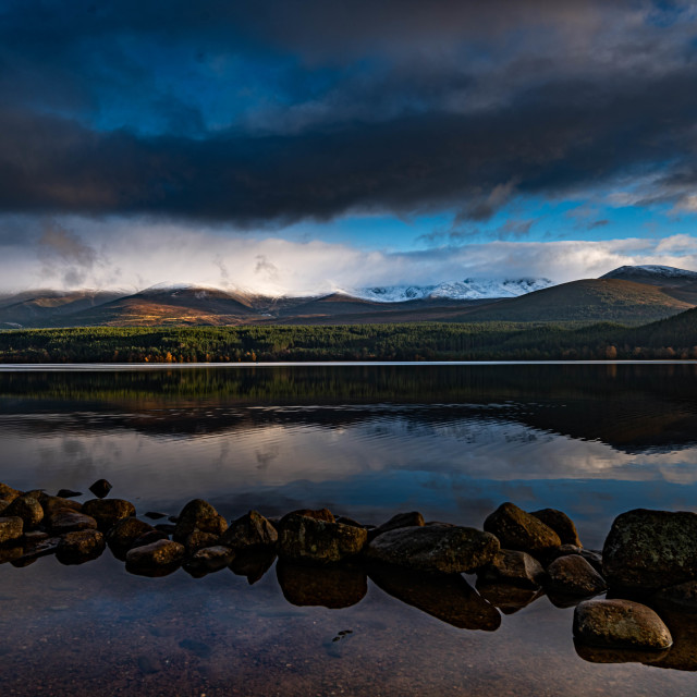 """""""Cairngorm Mountains"""" stock image"""