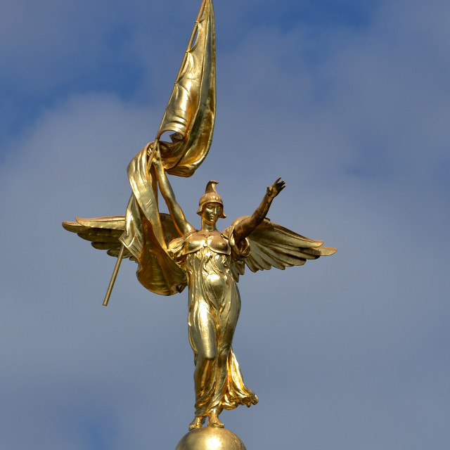 """""""The Golden Lady Washington DC"""" stock image"""