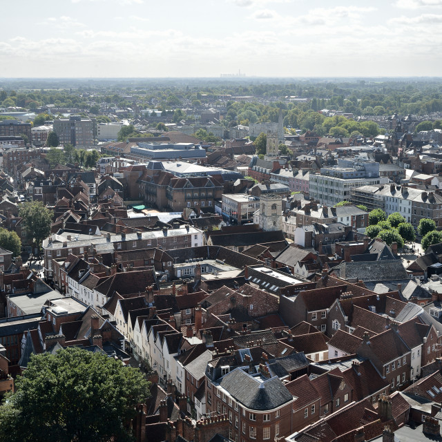 """York City Centre"" stock image"