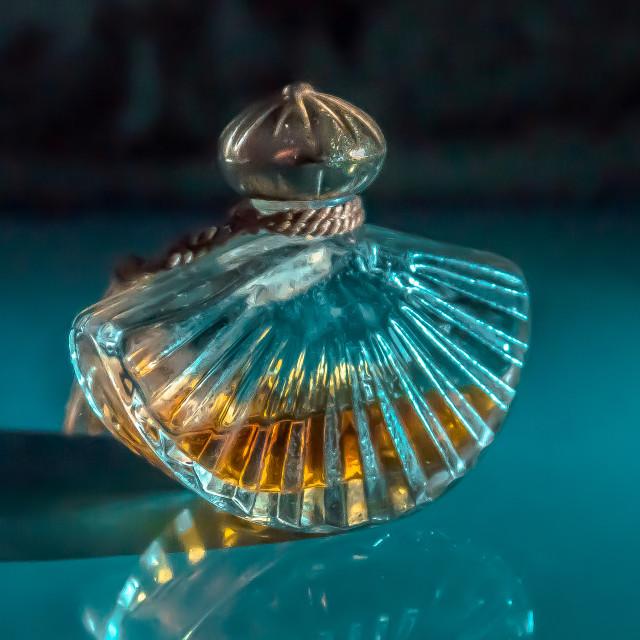 """Perfume Bottle still life"" stock image"