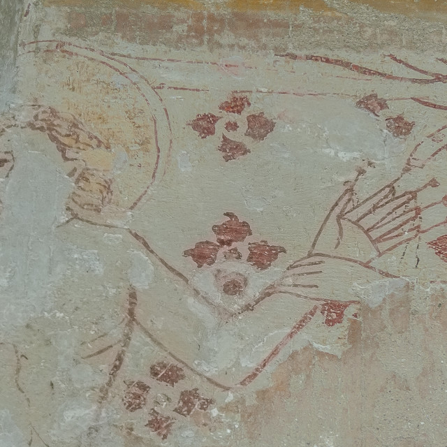 """Martyrdom of St Erasmus"" stock image"