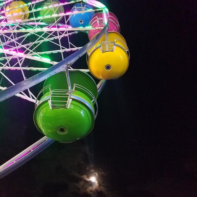 """""""Full moon fair"""" stock image"""