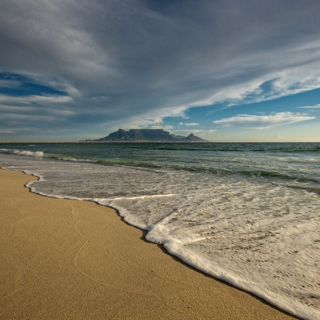 """Cape Town Waters"" stock image"