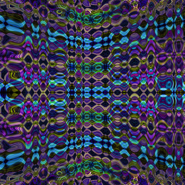 """""""Psychedelic pattern background"""" stock image"""