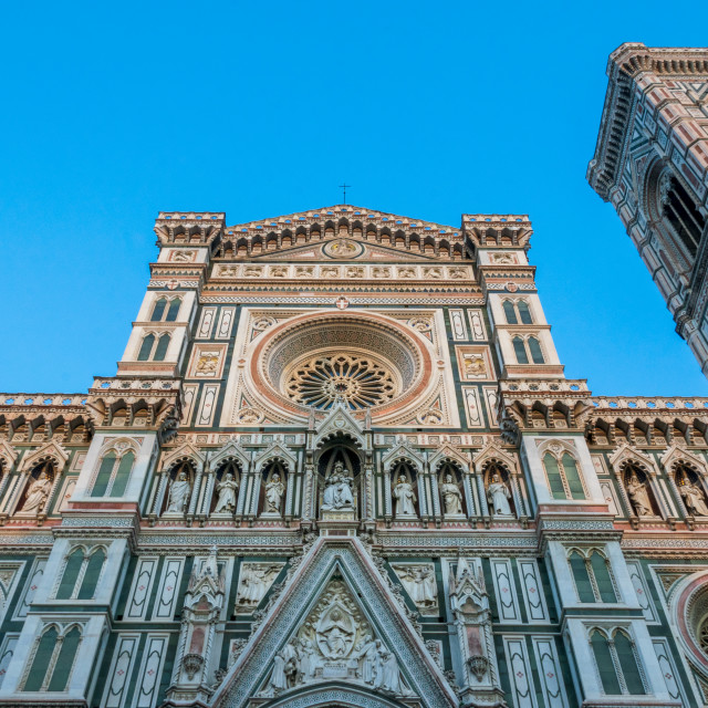 """""""The Cathedral of Santa Maria del Fiore in Florence, Tuscany, Italy"""" stock image"""