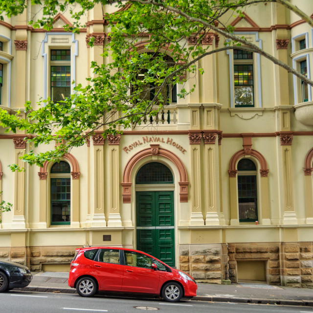 """Royal Naval House - Sydney"" stock image"
