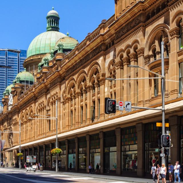 """Queen Victoria Building - Sydney"" stock image"