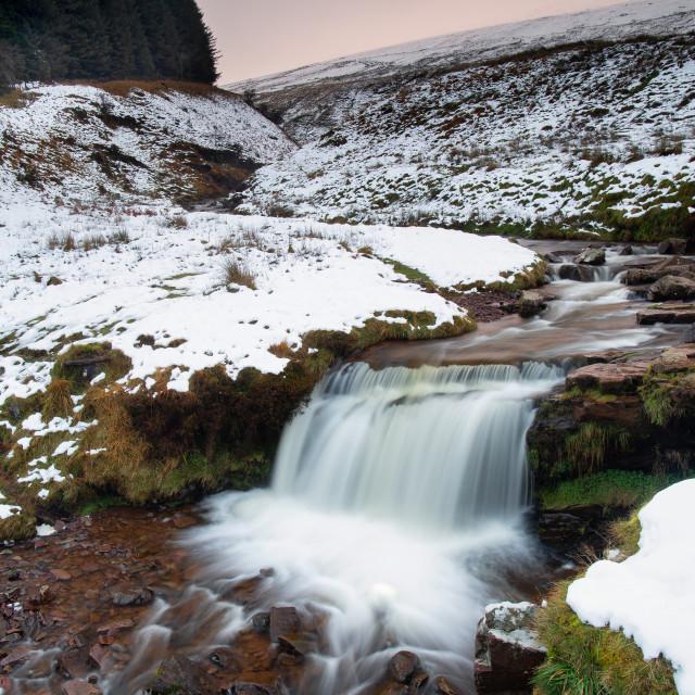 """Beacons waterfall"" stock image"