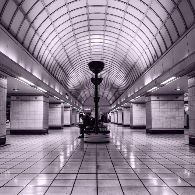 """Beautiful Gants Hill Station"" stock image"