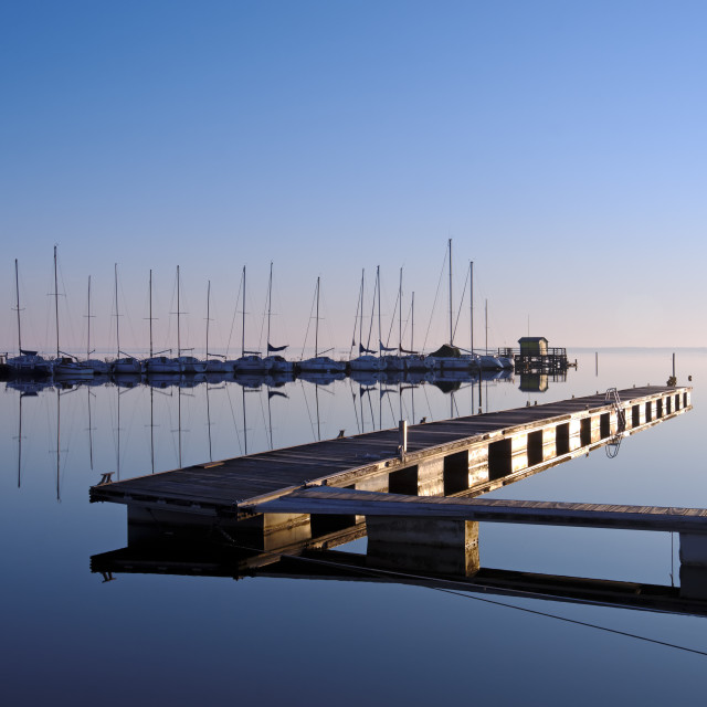 """""""Port Maguide reflection"""" stock image"""