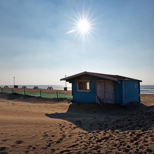 """""""Hourtin beach"""" stock image"""