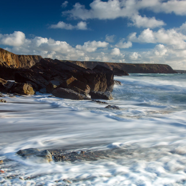 """Marloes Sands - Pembrokeshire"" stock image"