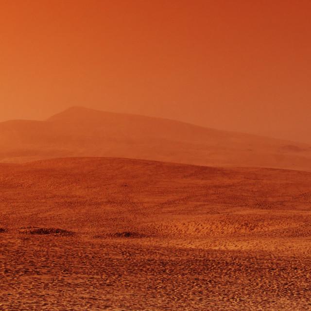 """Pilat sand dune"" stock image"