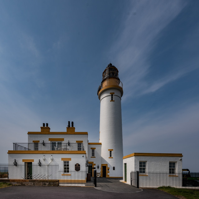 """""""Turnberry Lighthouse"""" stock image"""